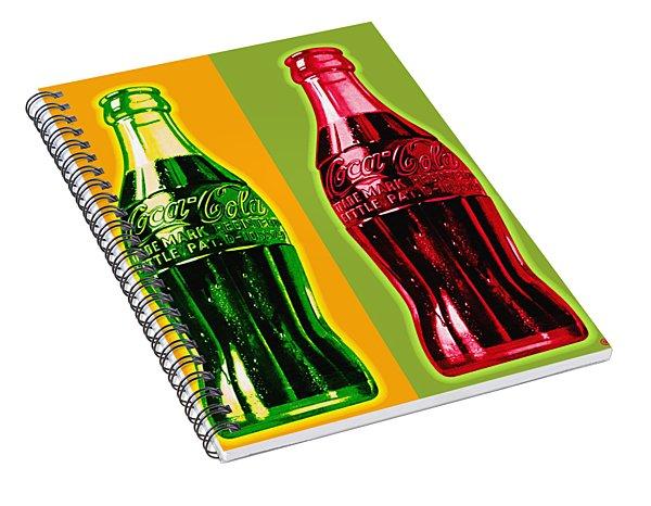 Two Coke Bottles Spiral Notebook