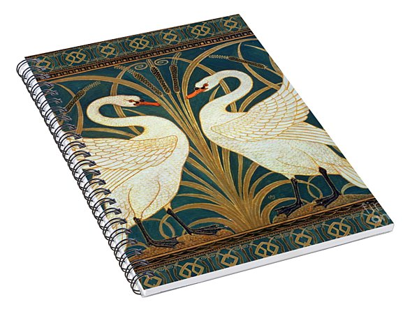 Two Swans Spiral Notebook