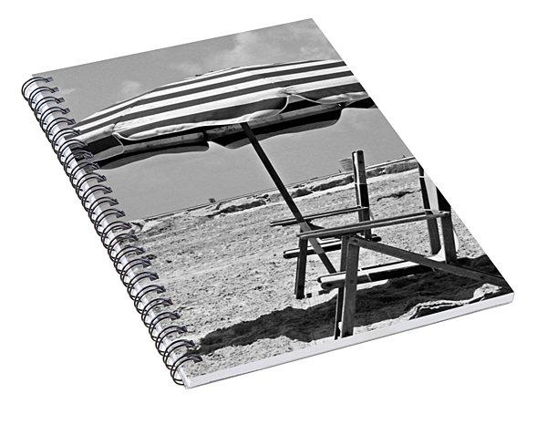 Umbrella Shade Spiral Notebook