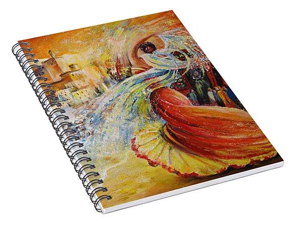 Una Vida Spiral Notebook