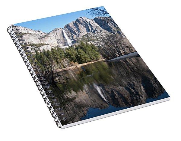 Upper Yosemite Fall Spiral Notebook