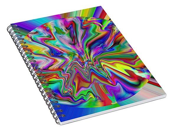 Vancouver Lights 4 Spiral Notebook