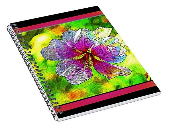 Venice Flower - Framed Spiral Notebook