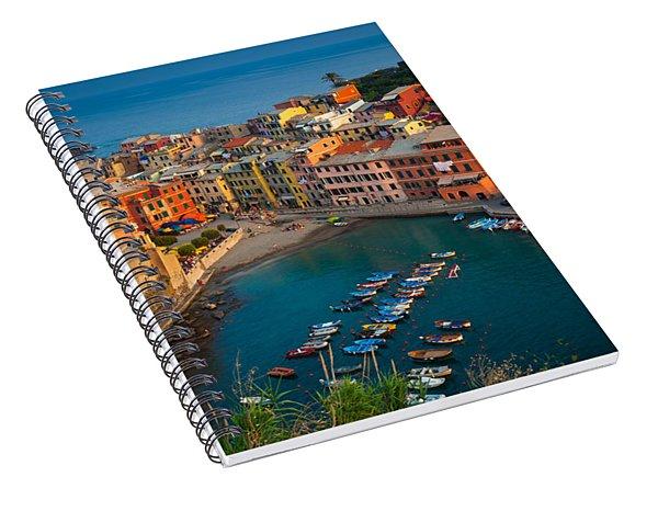 Vernazza Pomeriggio Spiral Notebook