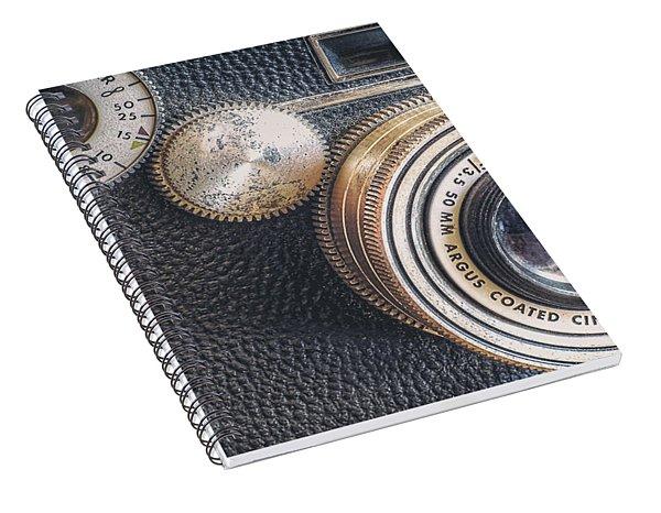 Vintage Argus C3 35mm Film Camera Spiral Notebook