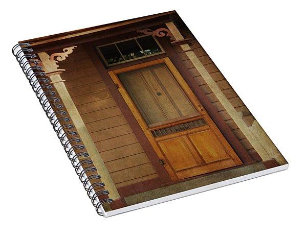 Vintage Doorway Spiral Notebook