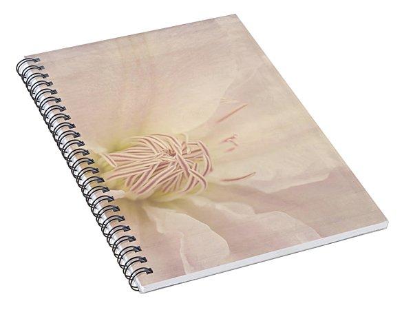Vintage Flower Art - A Beautiful Place Spiral Notebook