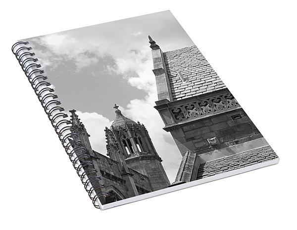 Vintage Ornate Architecture Spiral Notebook