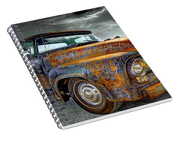 Vintage  Pickup Truck Spiral Notebook