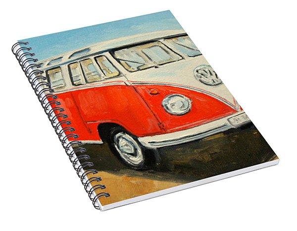 Vw Transporter T1 Spiral Notebook