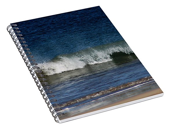 Waves And Surf Spiral Notebook