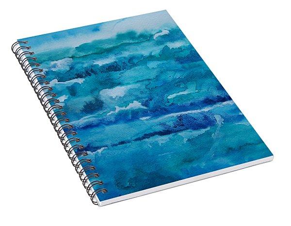 White Caps Spiral Notebook