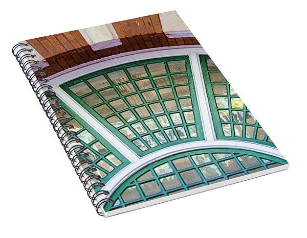 Windows Of Ybor Spiral Notebook