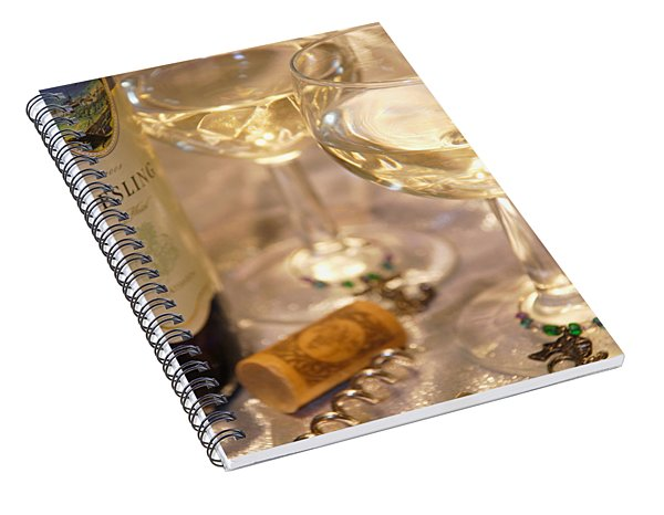 Wine With Friends Spiral Notebook