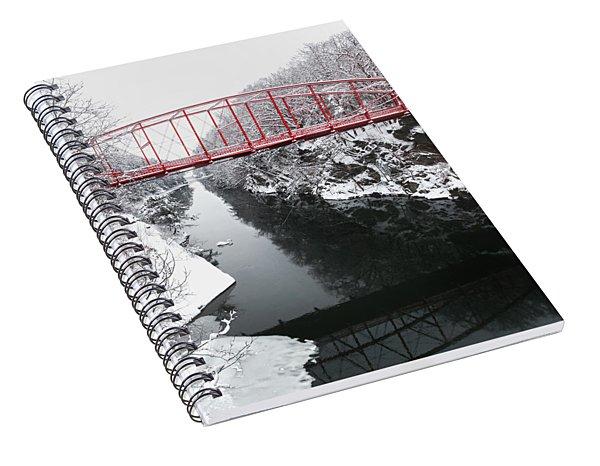 Winter Solitude Square Spiral Notebook