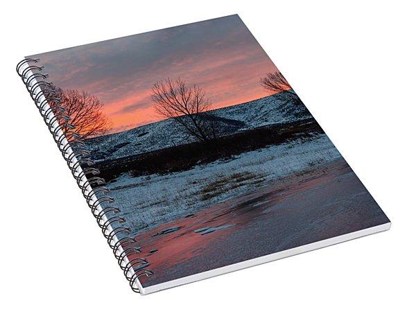 Winter Sunrise Spiral Notebook