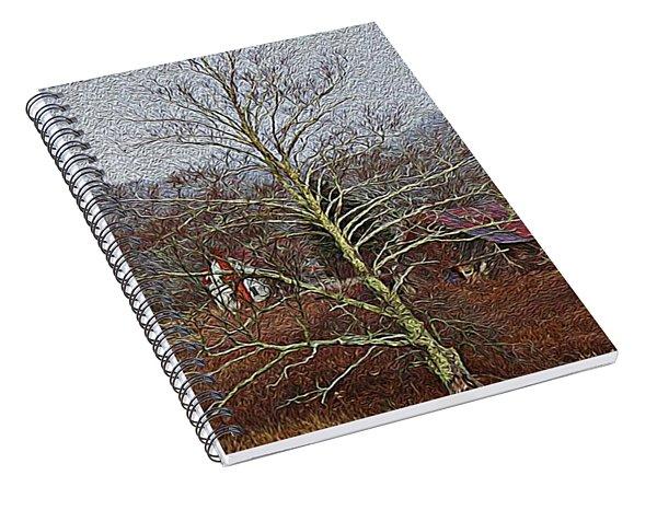 Winter's Sentinel V2 Spiral Notebook