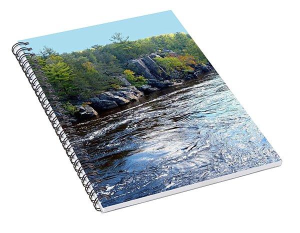 Wisconsin Shores 1 Spiral Notebook