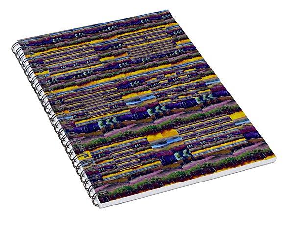 Woven Southwestern Sampler Spiral Notebook