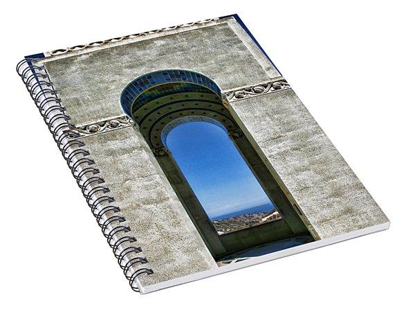 Wrigley's Memorial By Diana Sainz Spiral Notebook