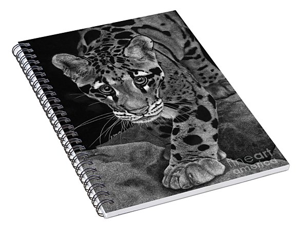 Yim - The Clouded Leopard Spiral Notebook