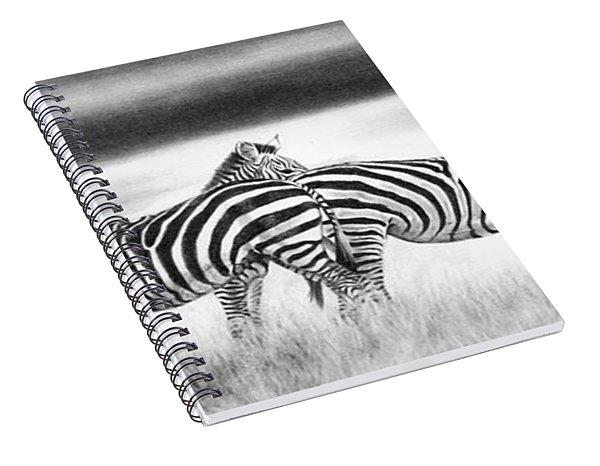 Zebra Panarama Spiral Notebook