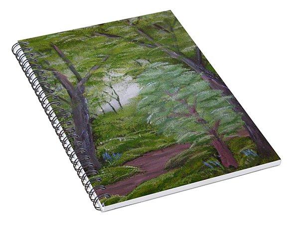 Summer Morning Spiral Notebook