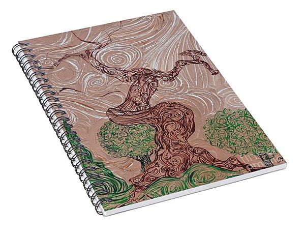 The Earthen Tree Spiral Notebook