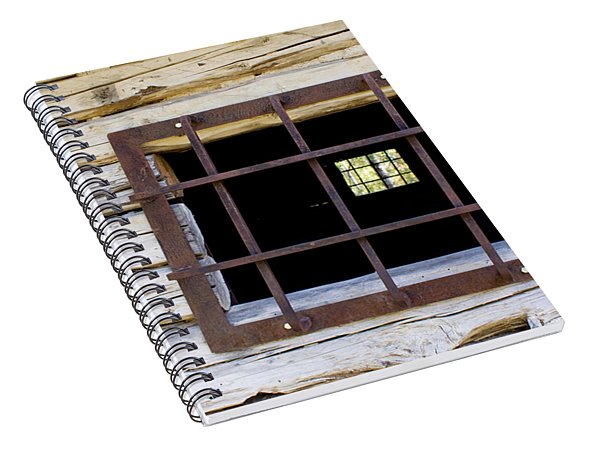 A Glimpse Into Another World Spiral Notebook