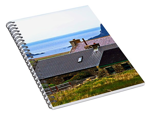 A House In Ireland Spiral Notebook
