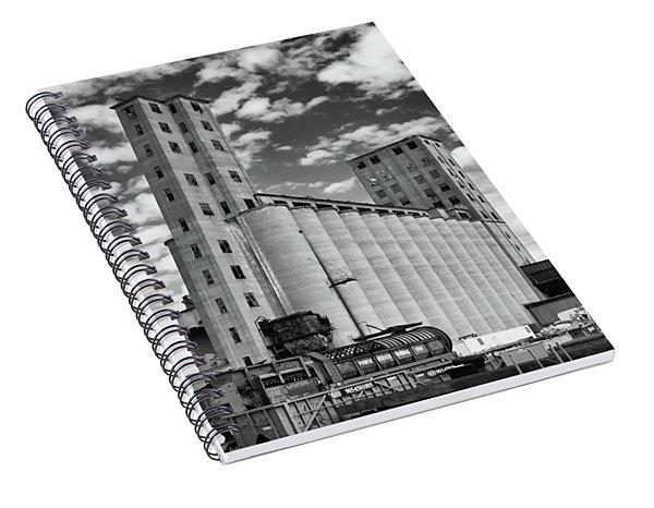 Abandoned 8910 Spiral Notebook