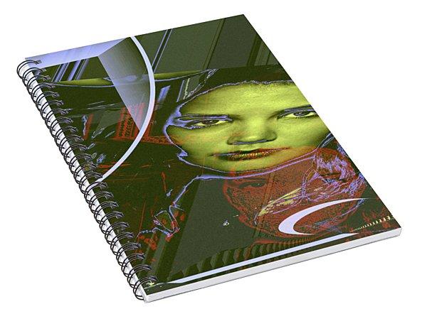 About Art Streetart Spiral Notebook