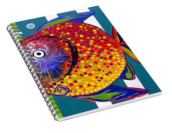 Acidfish 60 Spiral Notebook