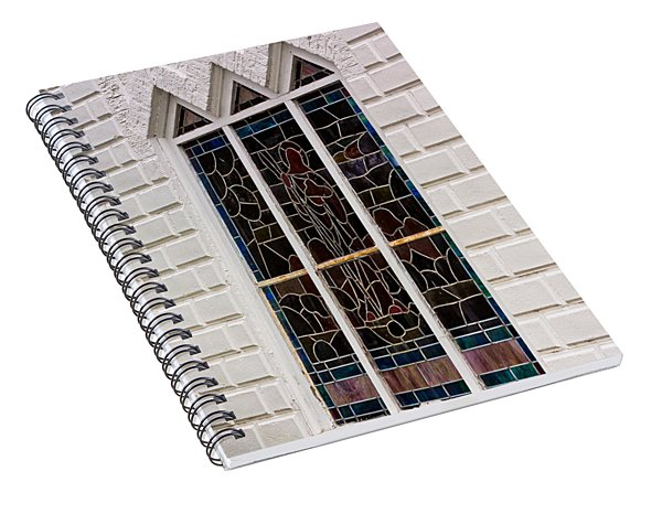 Art In Glass Spiral Notebook