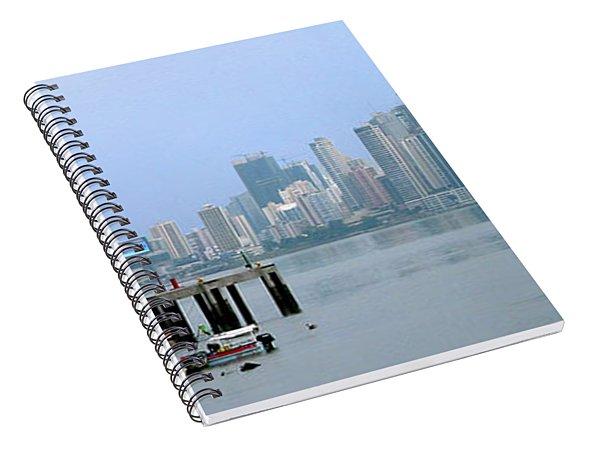 Bahia De Panama Spiral Notebook