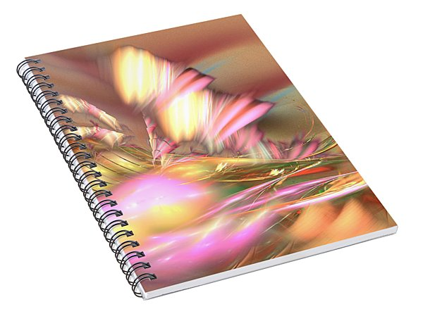By The Field - Abstract Art Spiral Notebook