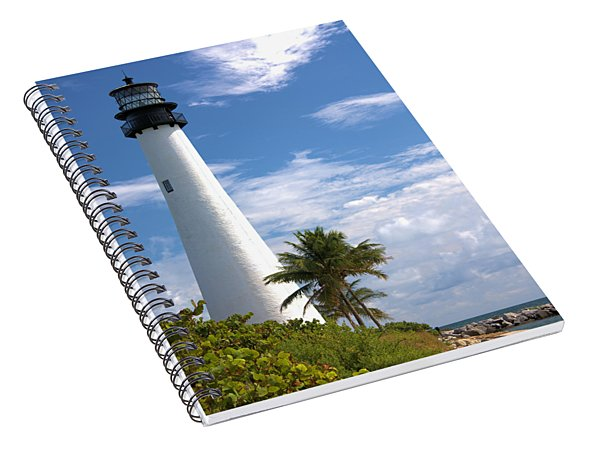 Cape Florida Lighthouse Spiral Notebook