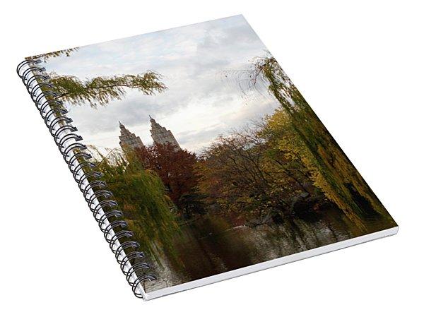 Central Park Autumn Spiral Notebook