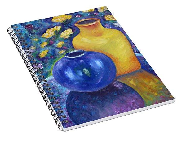 Colorful Jars Spiral Notebook