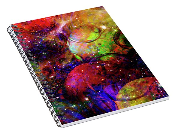 Cosmic Confusion Spiral Notebook