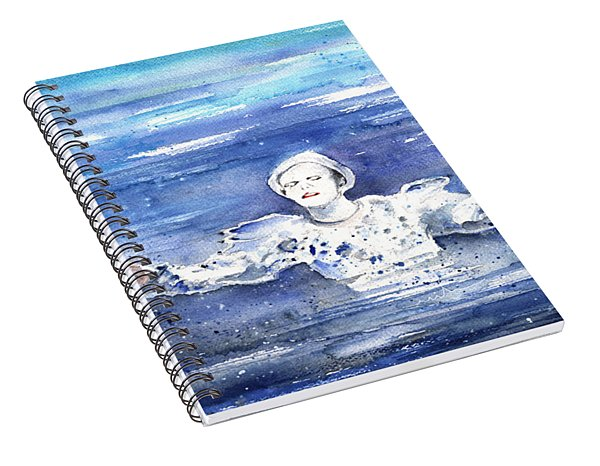 David Bowie In Ashes To Ashes Spiral Notebook