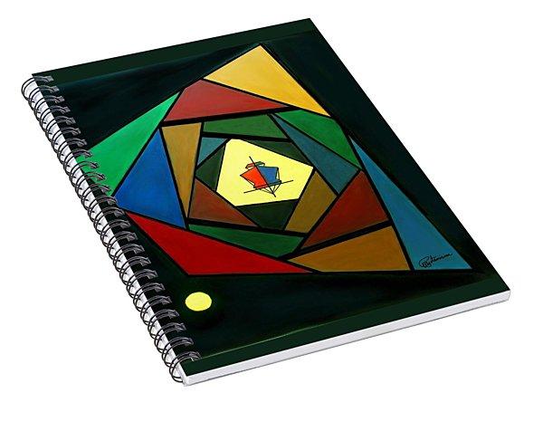 Eccentric Spiral Notebook