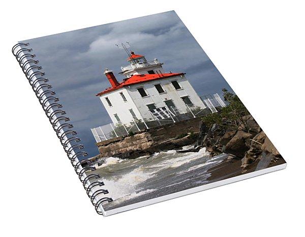 Fairport Harbor West Breakwater Lighthouse Spiral Notebook