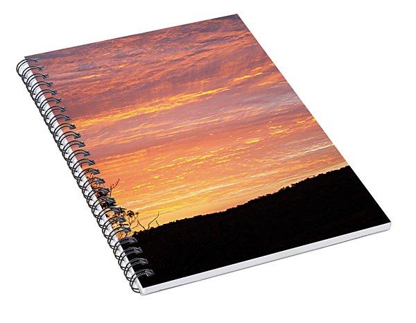 Fall Sunrise Spiral Notebook