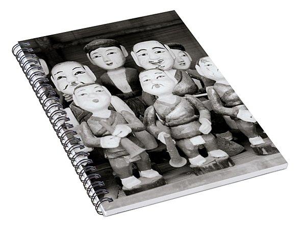 Hanoi Water Puppets Spiral Notebook