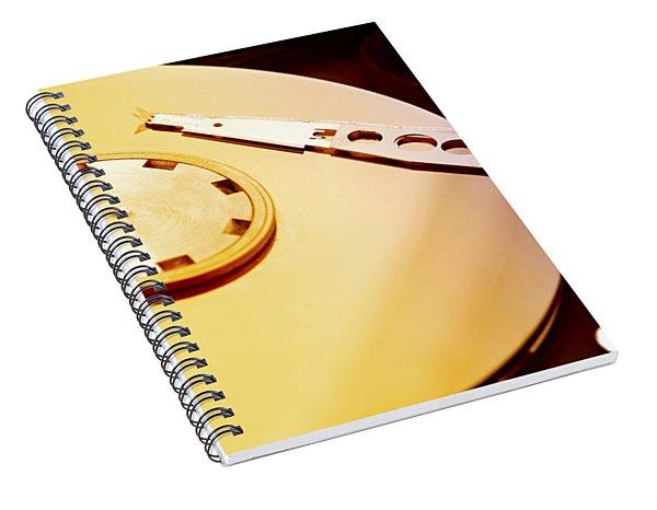 Hard Disk Detail Spiral Notebook