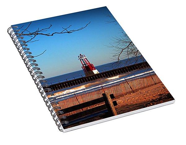 Late Fall Spiral Notebook
