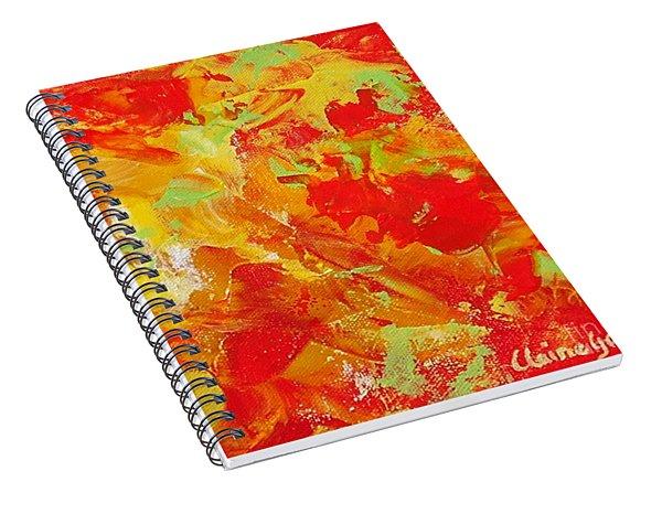 Latin Rythym Spiral Notebook