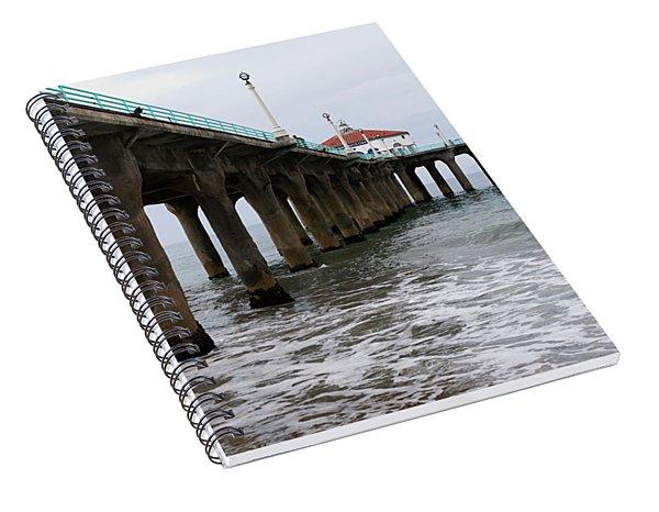 Manhattan Beach Pier Spiral Notebook