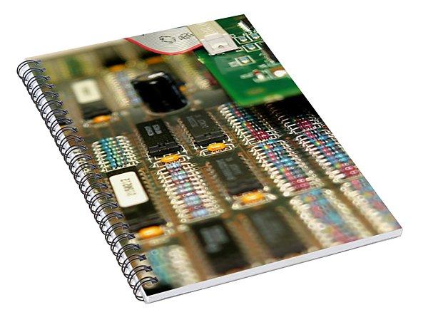 Motherboard Spiral Notebook